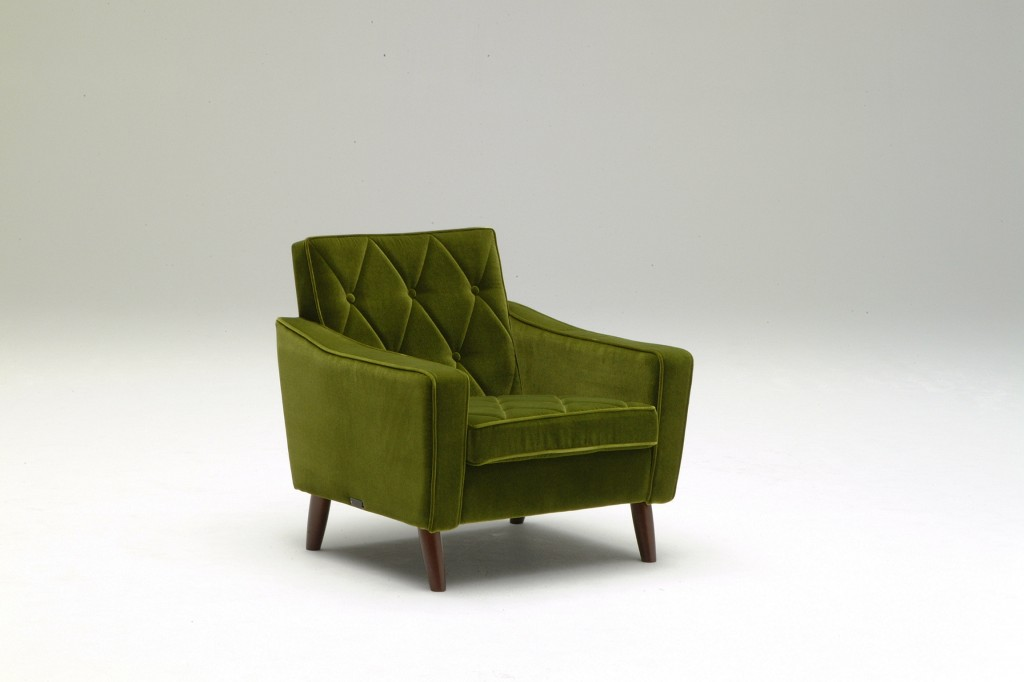 U36210QD Lobby chair_one seater_moquette green