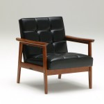 W36150BW K- chair_one seater_standard black