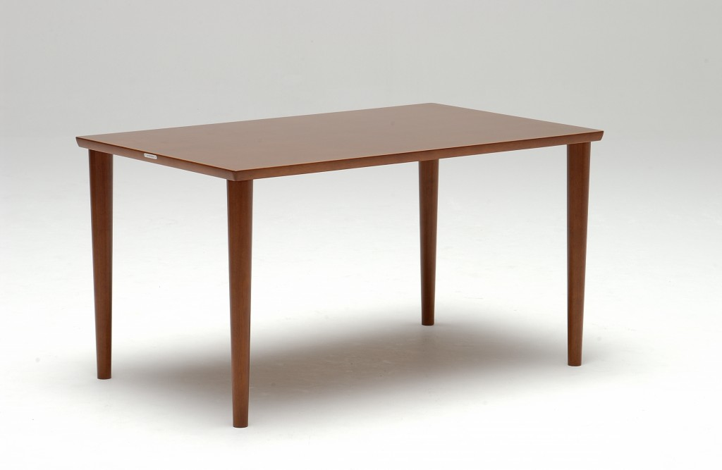 D36490AW Dining table_walnut color