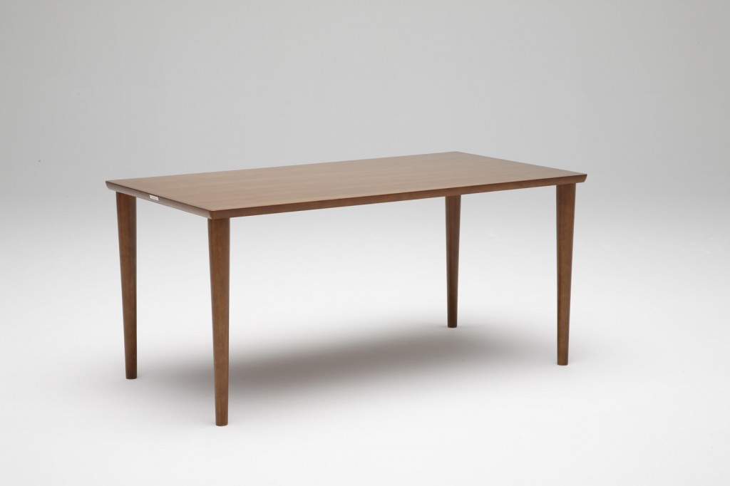 D36540AW Dining table_walnut color1500